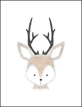 kid-cute-pencil-deer-single