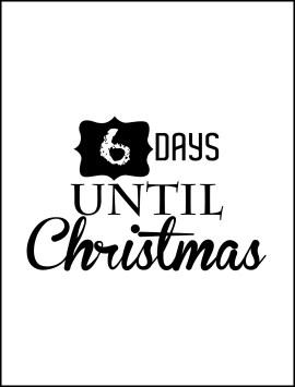 xmas days before christmas single